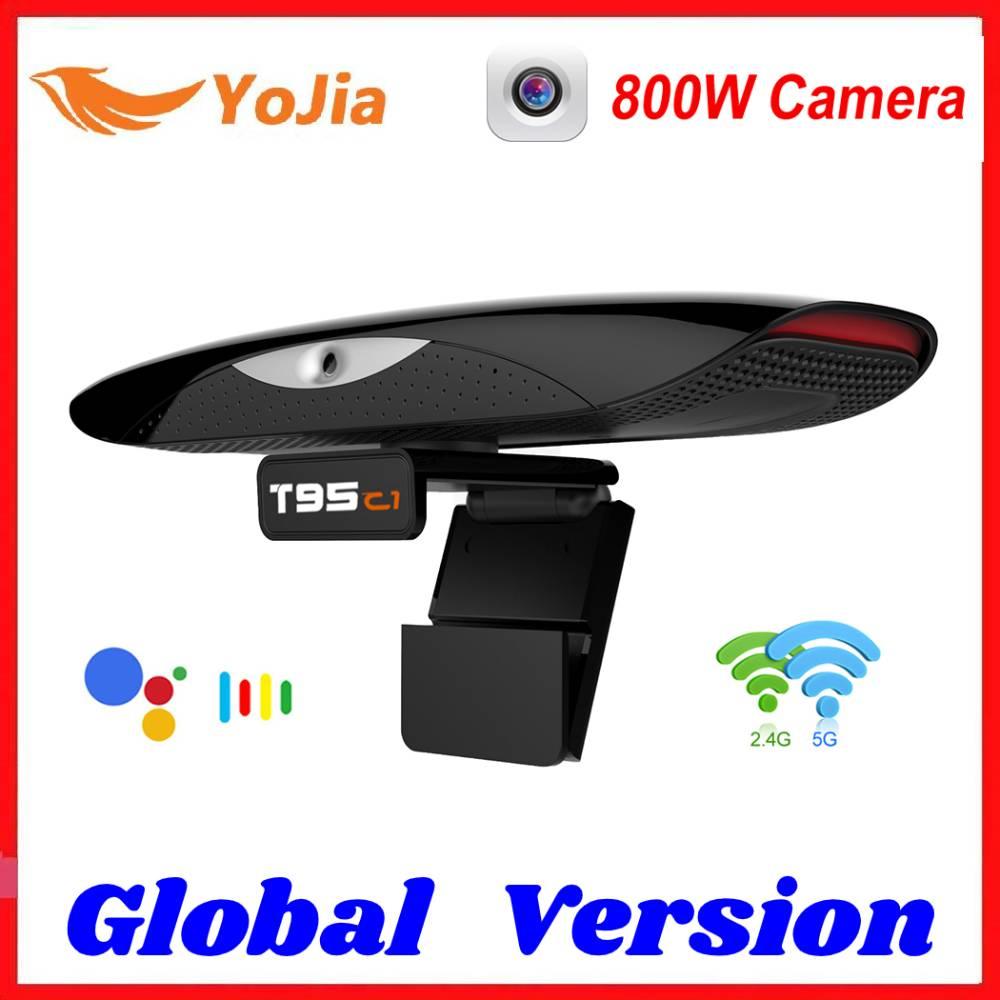 800W pixel Camera TV BOX Android 9.0 Smart TVBOX 2.4&5G Wifi 100M 2GB 16GB 1080P 4K Set Top Box Youtube Media Player 2020 NEW